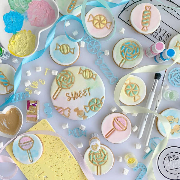 SWEET STAMP ELEMENTS - Candy