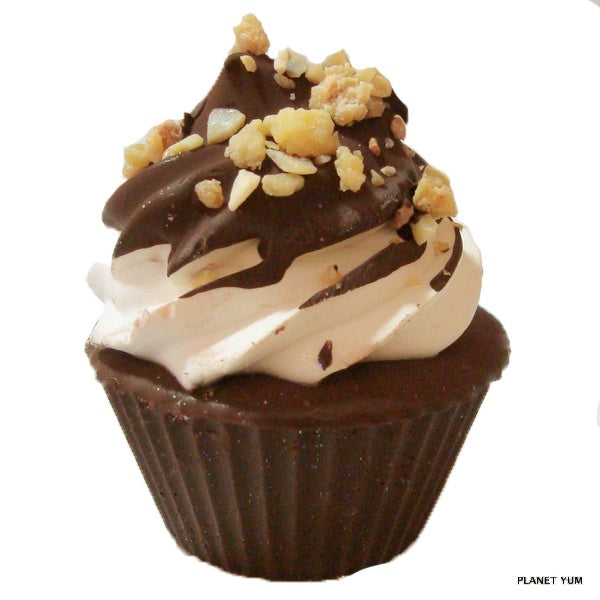 Choc Top Cupcake Soap