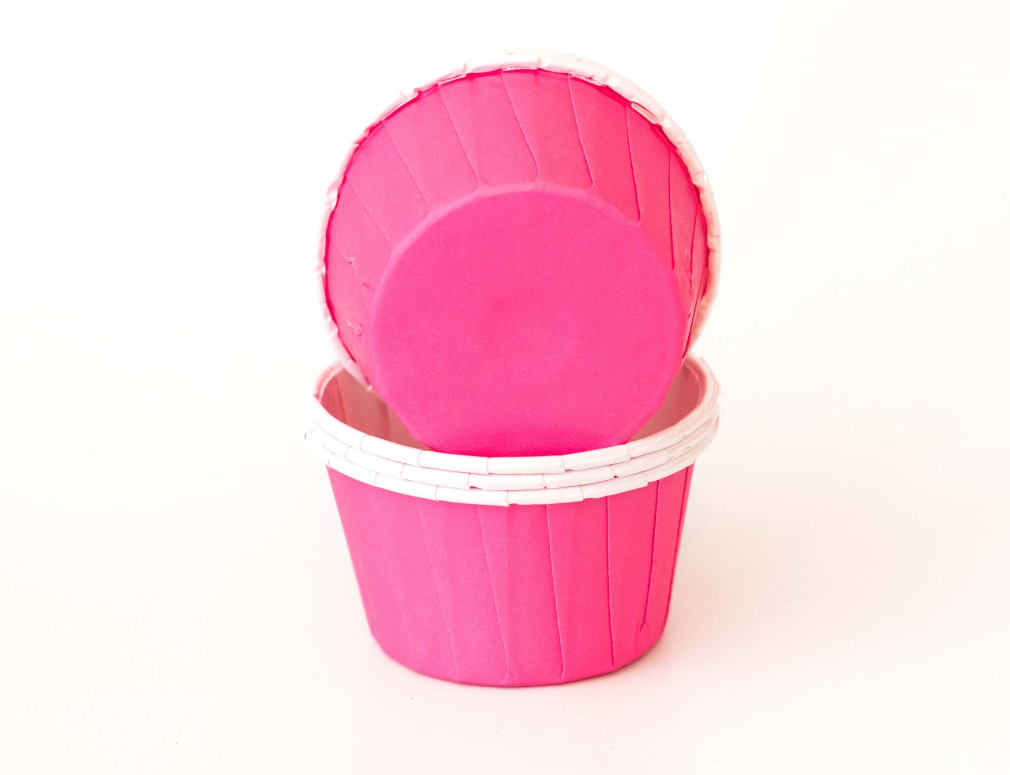 Baking Cups - Bright Pink - Pkg of 24
