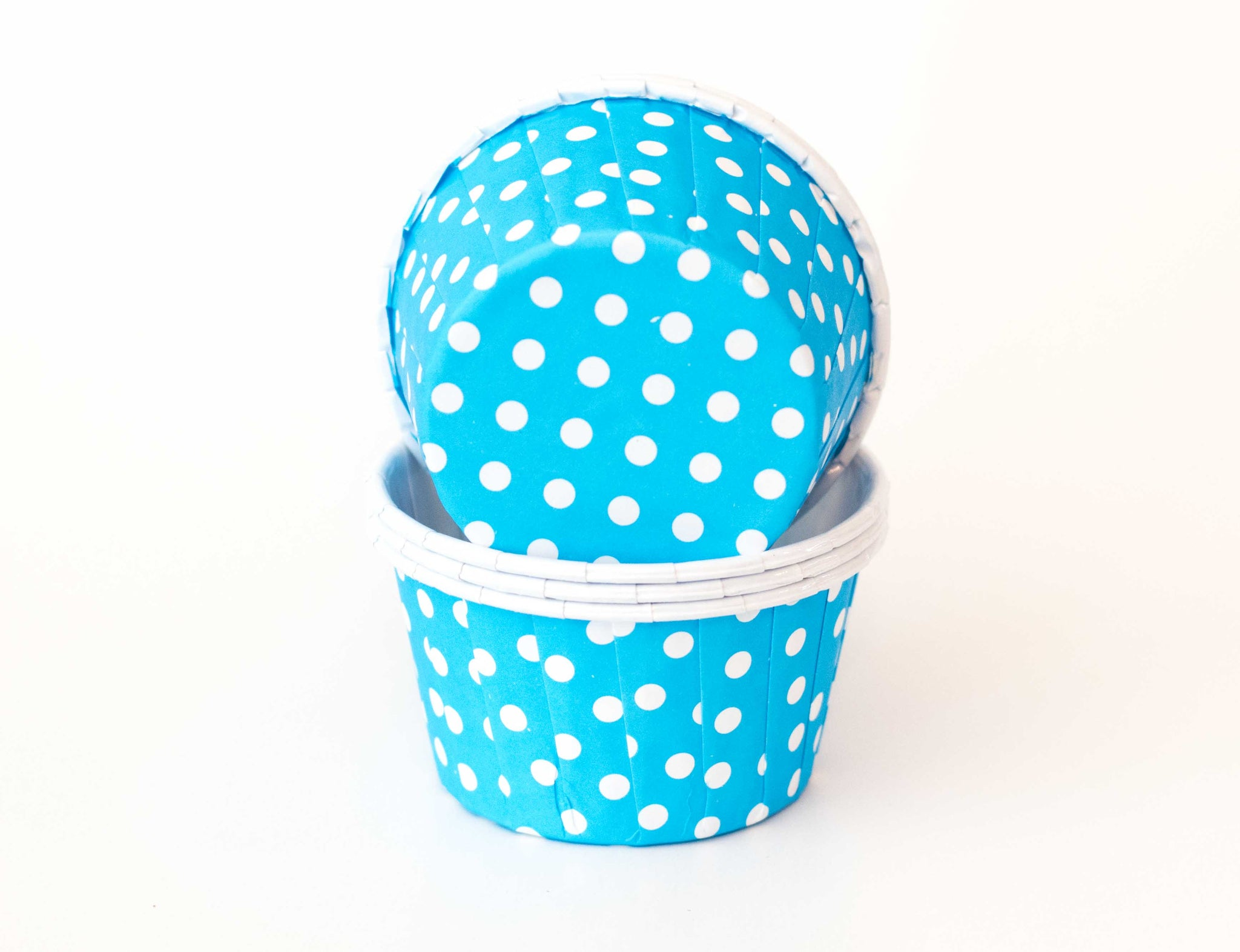 Baking Cups - Blue Polka Dot - Pkg of 24