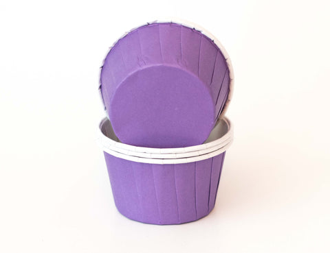 Baking Cups - Purple - Pkg of 24 - Dragonfly Cake Supply, Alberta, Canada