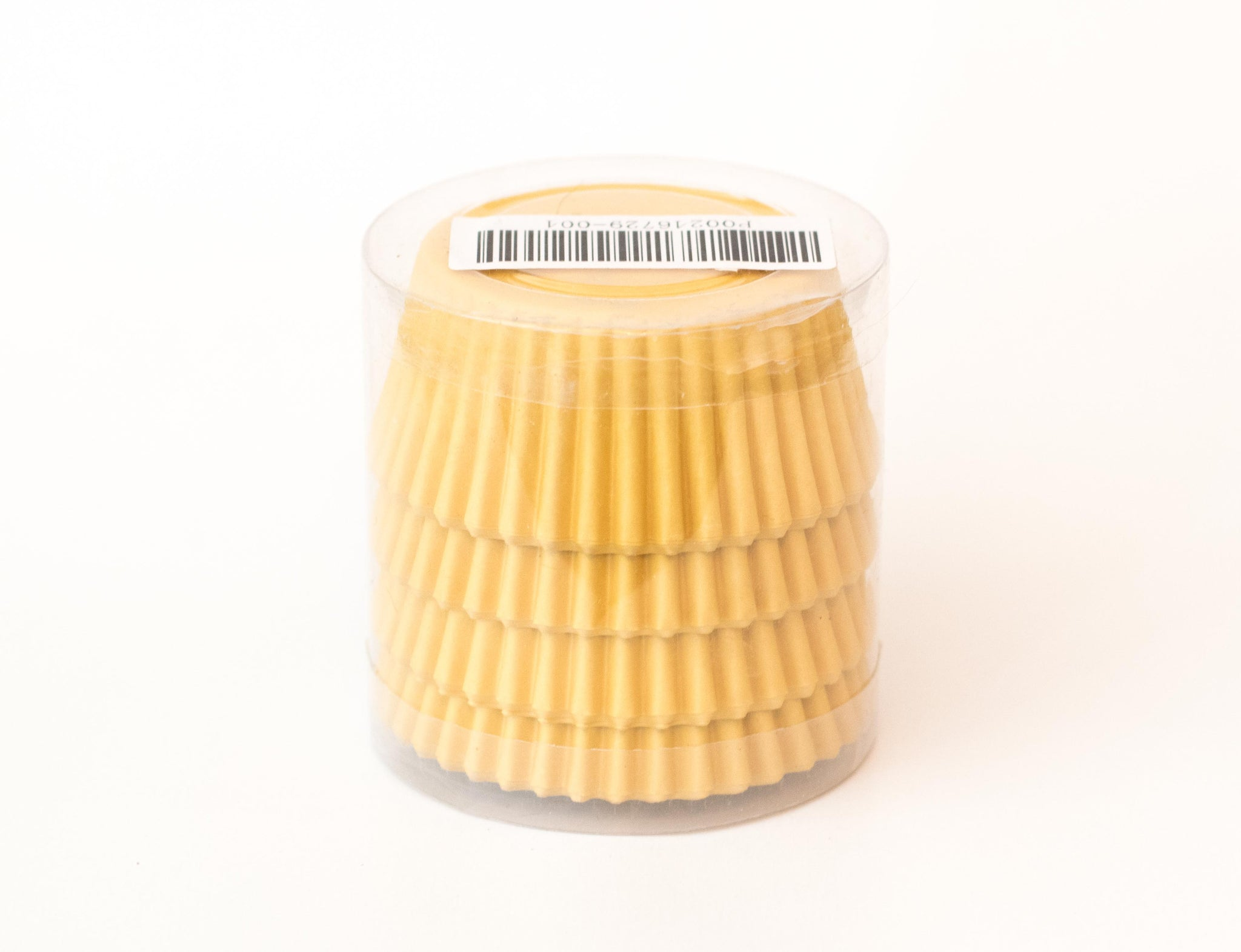 Cupcake Liners - Yellow Solid - Pkg of 100