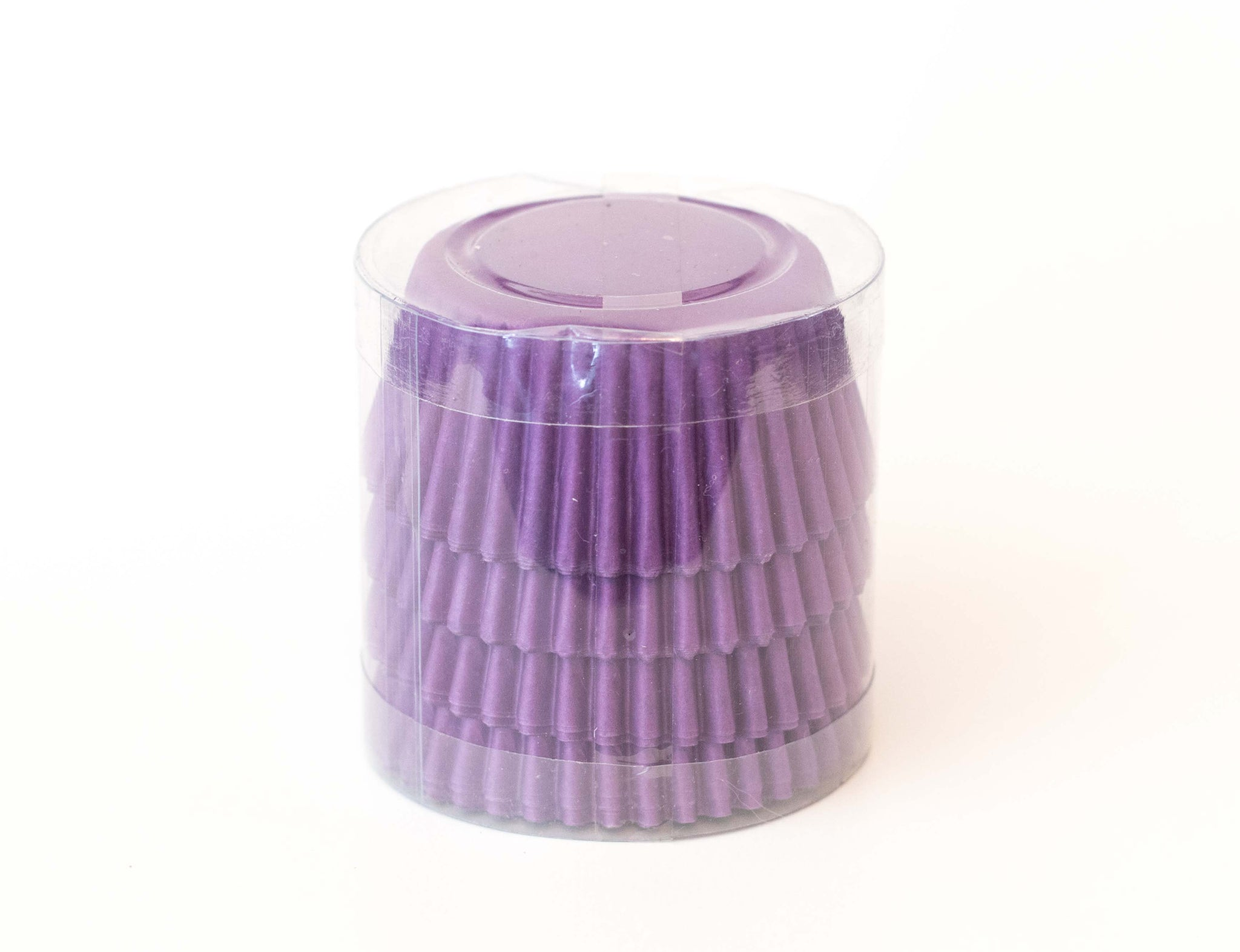 Cupcake Liners - Purple Solid - Pkg of 100