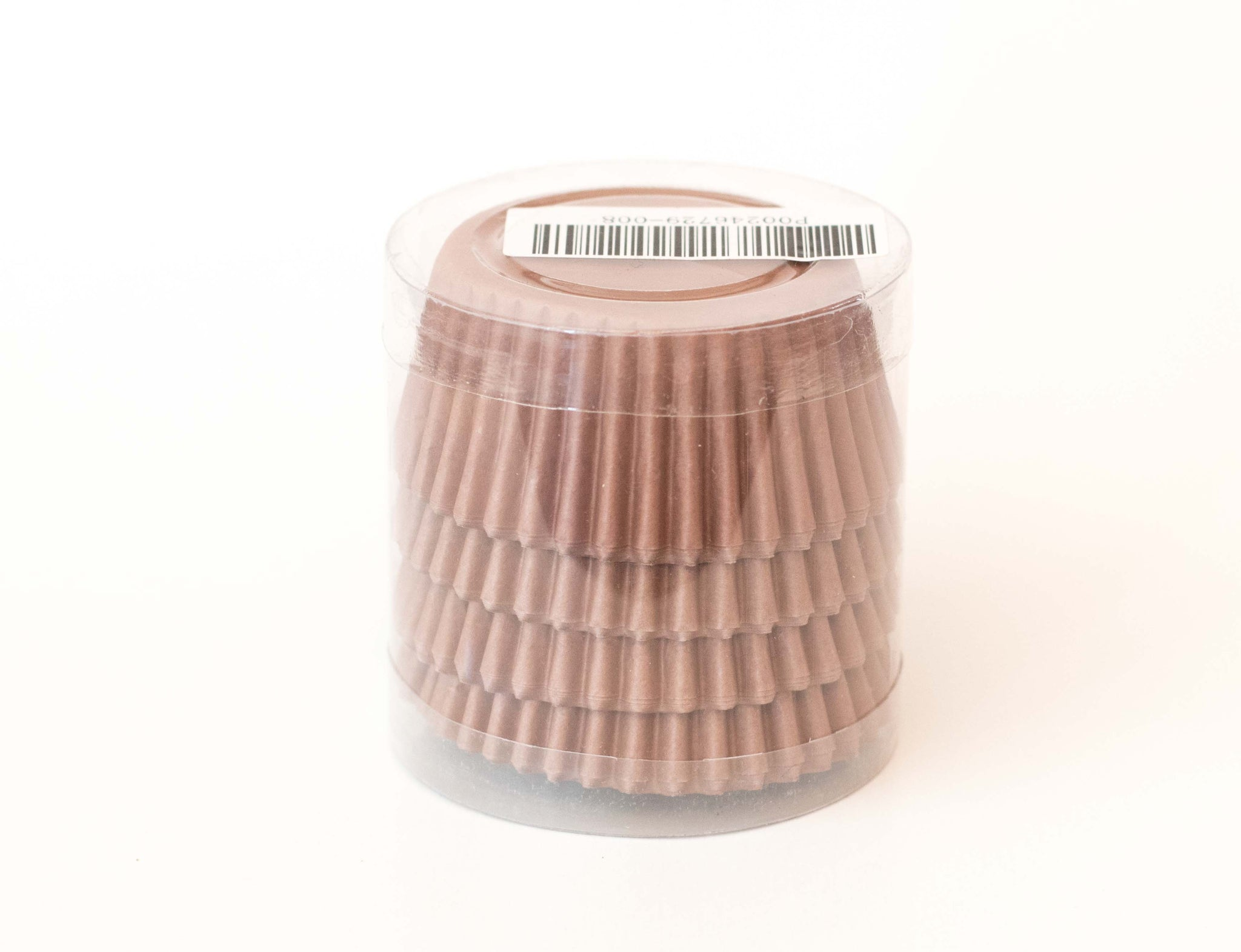 Cupcake Liners - Brown Solid - Pkg of 100