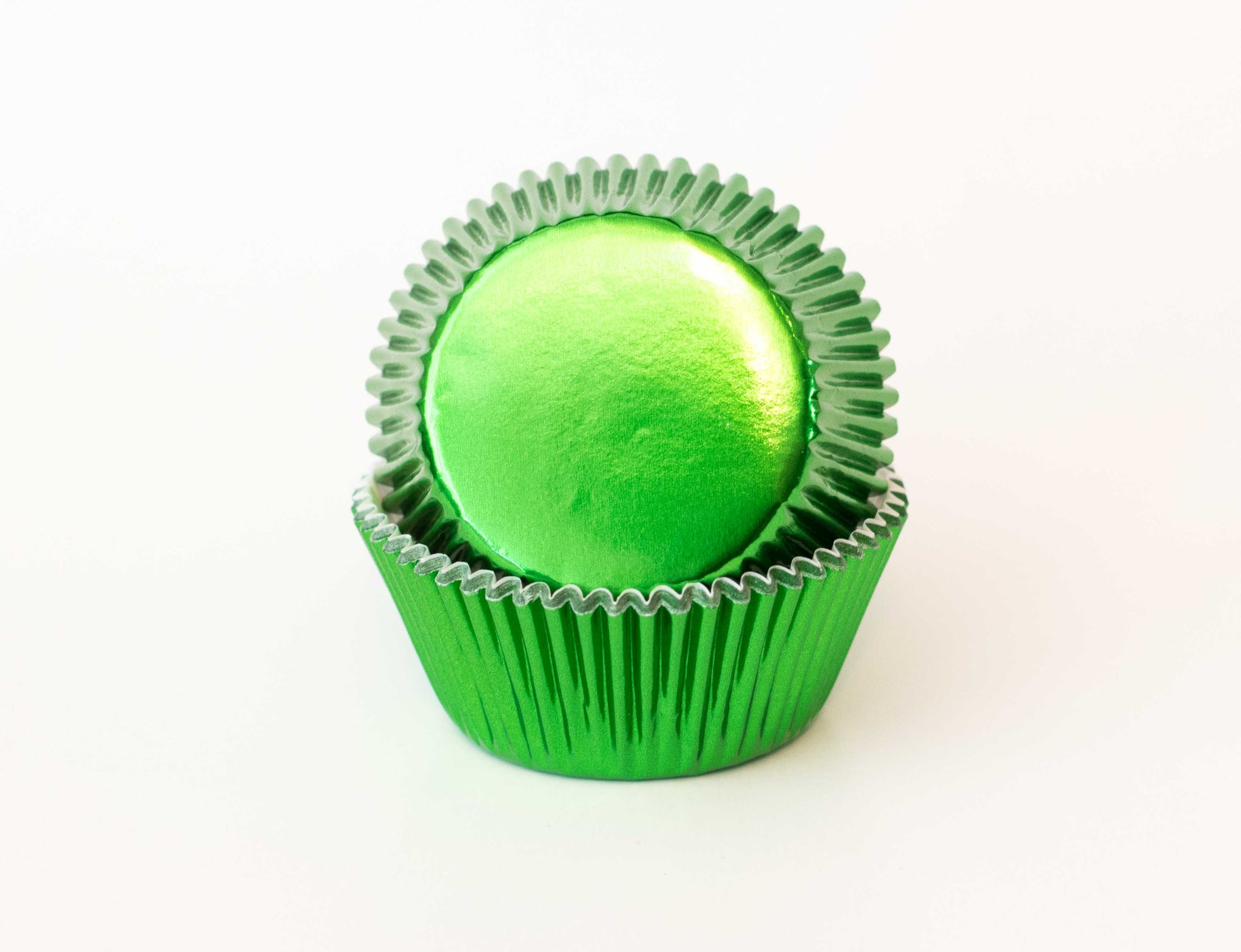 Cupcake Liners - Green Foil - Pkg of 50