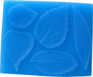 Leaves Floramat and Back Press Silicone Mould