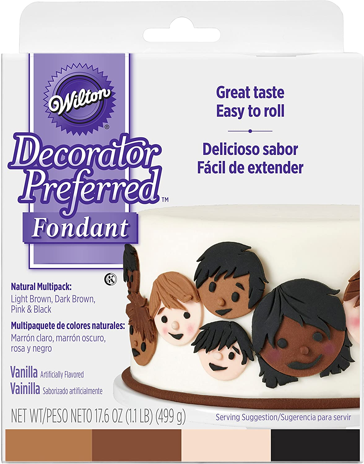 Wilton Fondant - Natural 4 Pack (1.1lb)