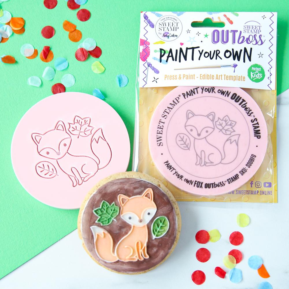 SWEET STAMP - OUTboss Paint Your Own - Fox