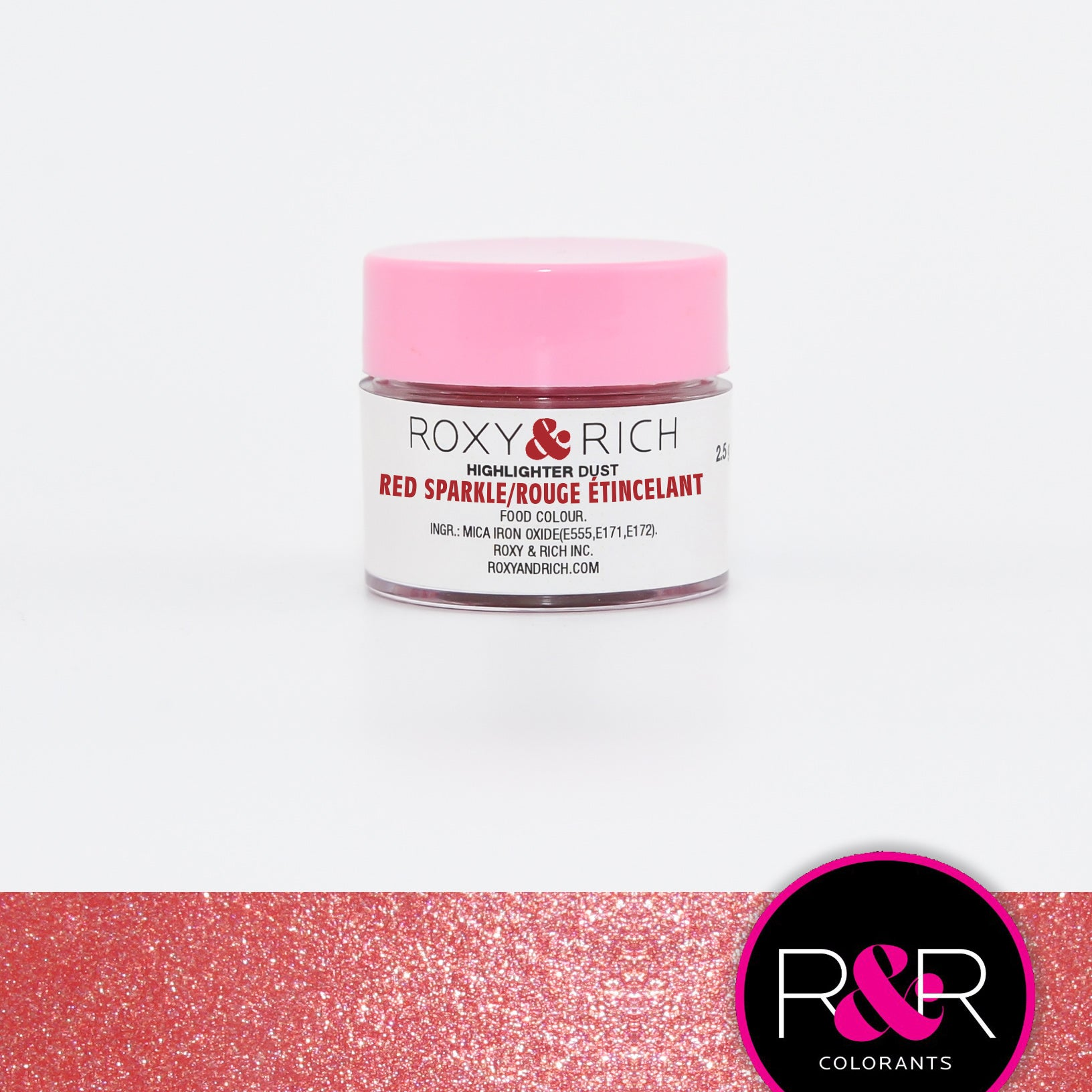 Highlighter - Red Sparkle 2.5g