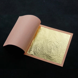 Gold Leaf (Edible) on Transfer Sheets - Pkg of 125