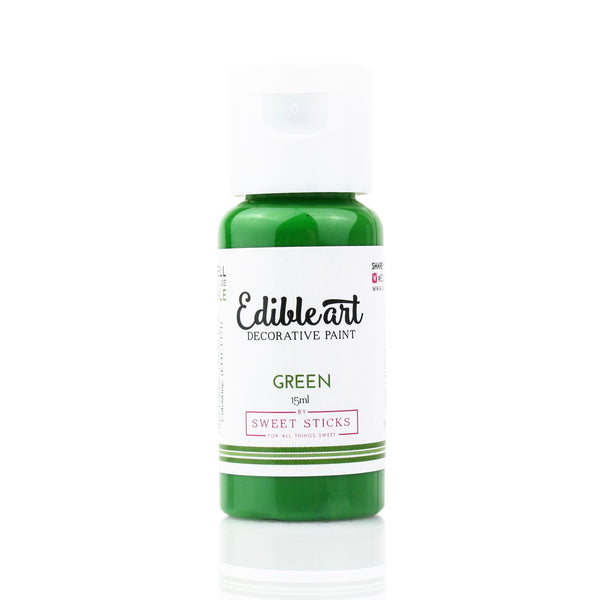 Edible Art Paint - Green 15ml - Dragonfly Cake Supply, Alberta, Canada