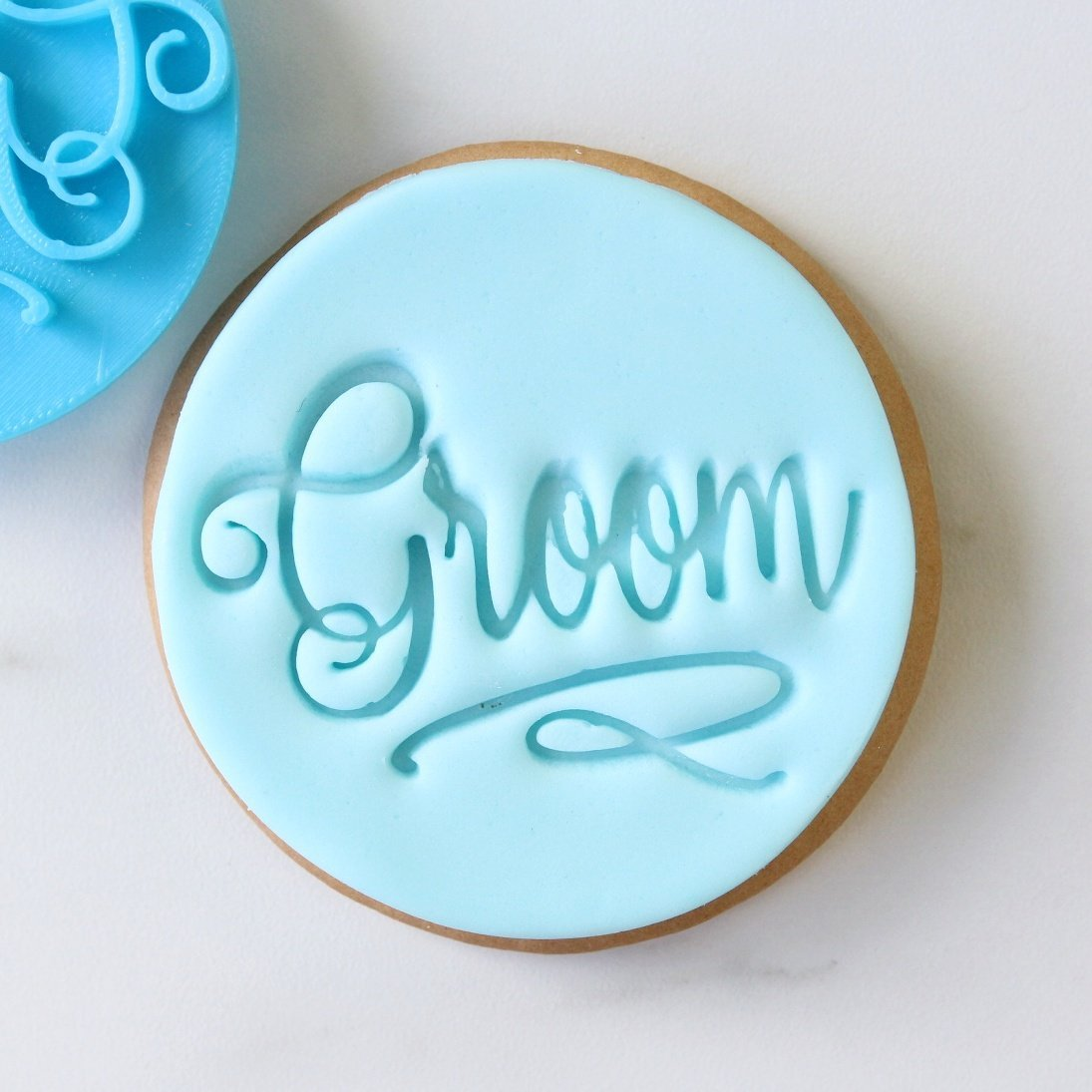 SWEET STAMP - Groom Cookie/Cupcake Embosser