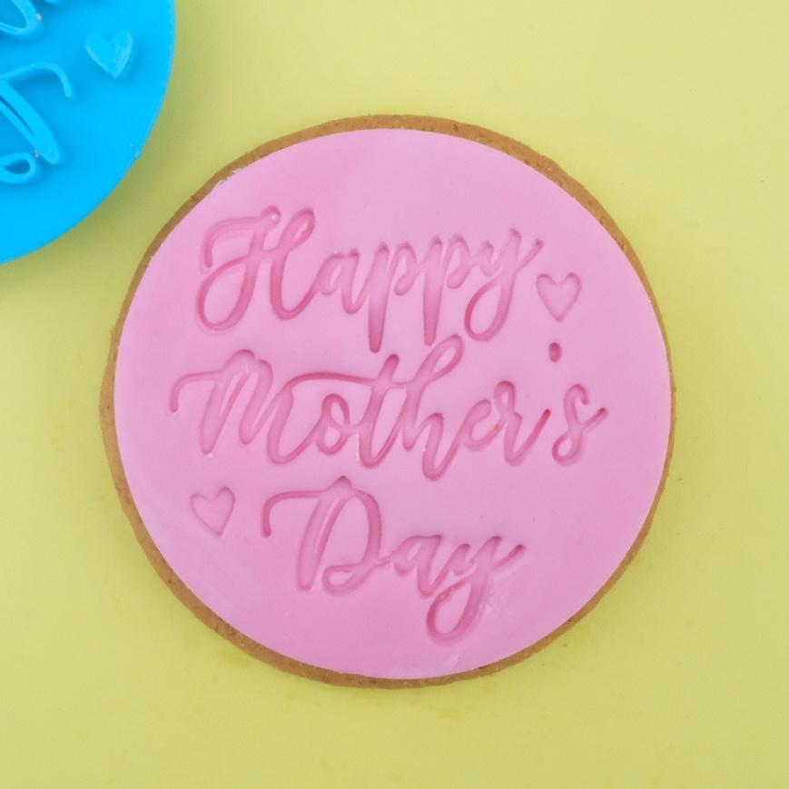 SWEET STAMP - Happy Mother's Day Cookie/Cupcake Embosser