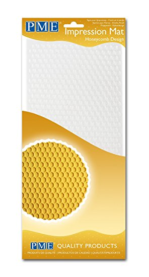 Honeycomb Design Impression Mat