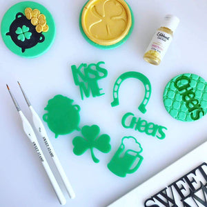 SWEET STAMP ELEMENTS - Kiss me I'm Irish