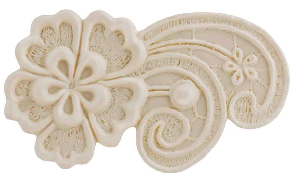 Joan Left Lace Mold - Dragonfly Cake Supply, Alberta, Canada