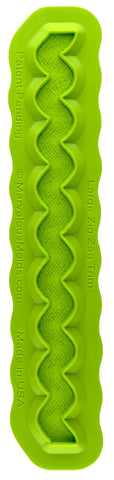 Large Zig Zag Trim Mold - Dragonfly Cake Supply, Alberta, Canada