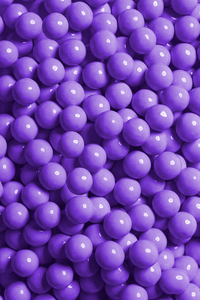 LAVENDER CANDY-COATED CHOCOLATE - 4oz