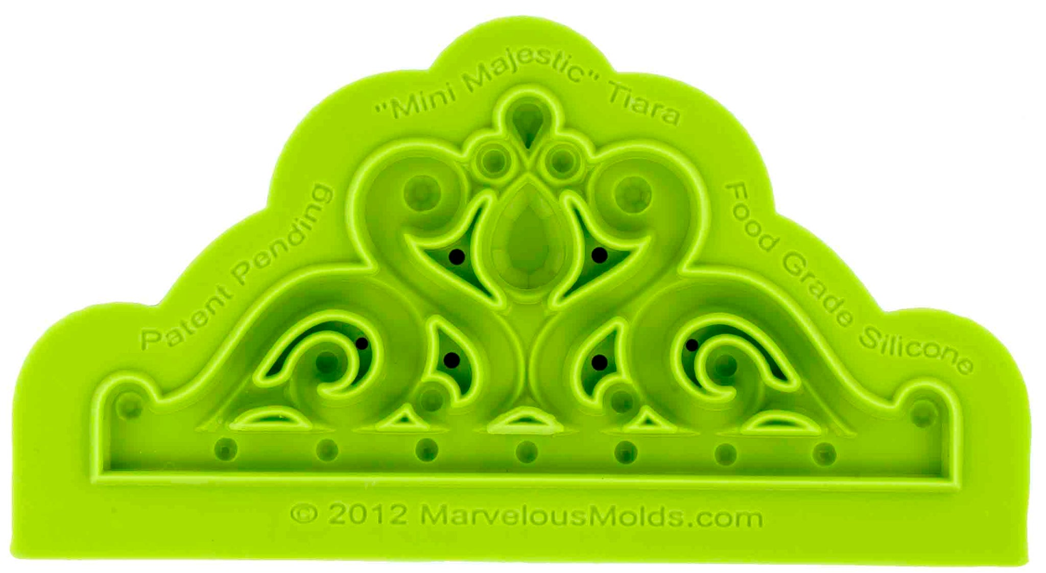 Mini Majestic Tiara Mold - Dragonfly Cake Supply, Alberta, Canada