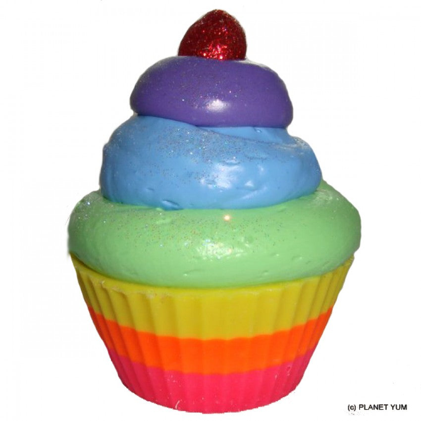 Over the Rainbow Cupcake Soap