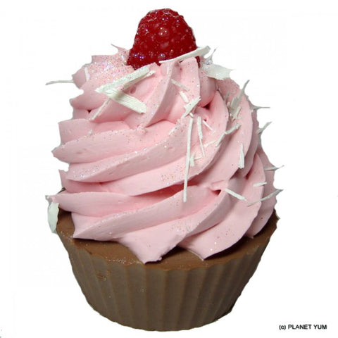 Raspberry Cupcake Soap - Dragonfly Cake Supply, Alberta, Canada