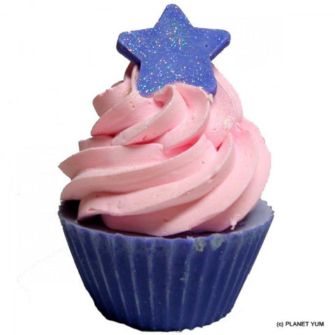 Stardust Cupcake Soap