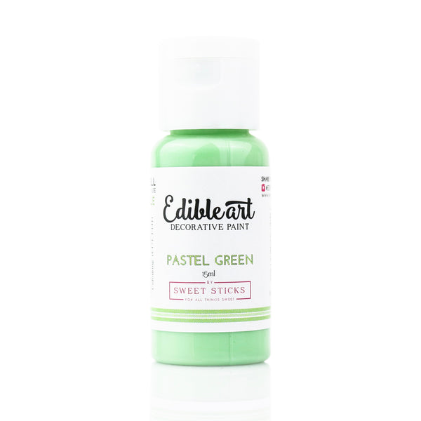 Edible Art Paint - Pastel Green 15ml - Dragonfly Cake Supply, Alberta, Canada