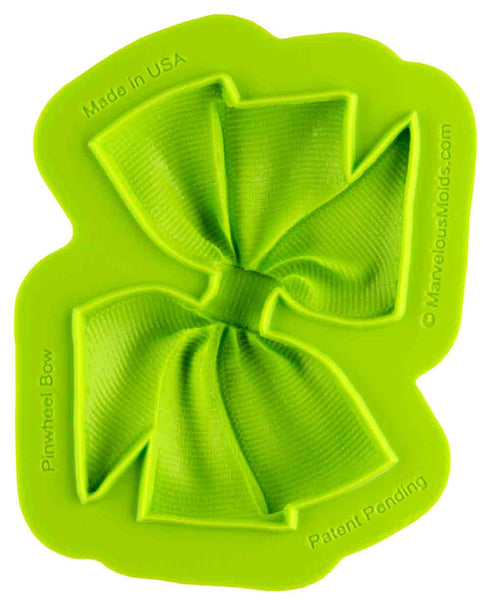 Pinwheel Bow Mold - Dragonfly Cake Supply, Alberta, Canada