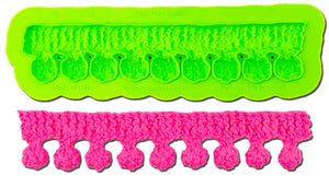 Pom Pom Knit Border Mold