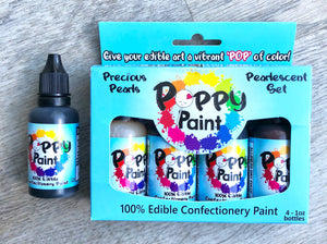 Poppy Paint - Pearlescent Set Plus Black