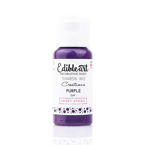 Edible Art Paint - Purple 15ml - Dragonfly Cake Supply, Alberta, Canada
