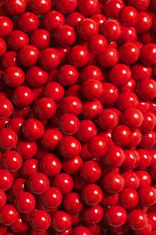 RED CANDY-COATED CHOCOLATE - 4oz