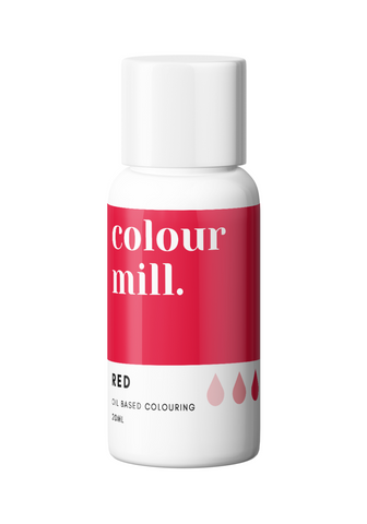 Oil Based Colouring - Colour Mill - Red 20ml