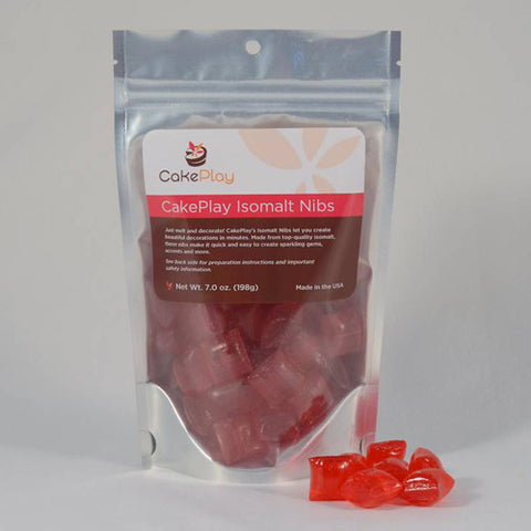 Isomalt Nibs - Red
