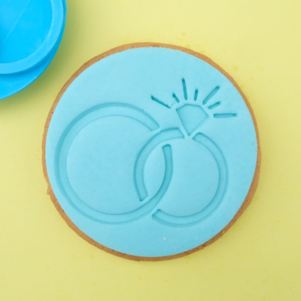SWEET STAMP - Rings Cookie/Cupcake Embosser
