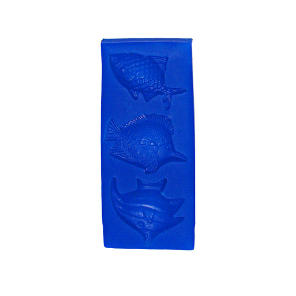 Mini Fish Trio Silicone Mould