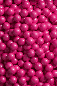 SHIMMER HOT PINK CANDY-COATED CHOCOLATE - 4oz