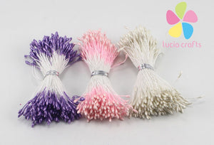 Stamen - 576 Pieces - Purple, Pink, Pearl