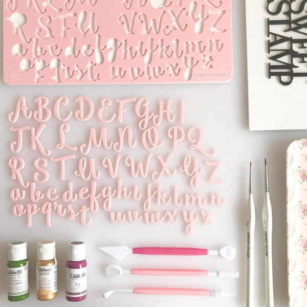 SWEET STAMP - Sweet Sticks Set (Uppercase and Lowercase)