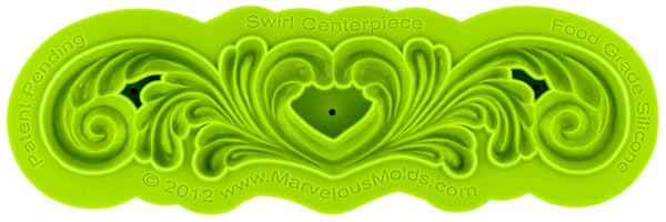 Swirl Centerpiece Mold - Dragonfly Cake Supply, Alberta, Canada