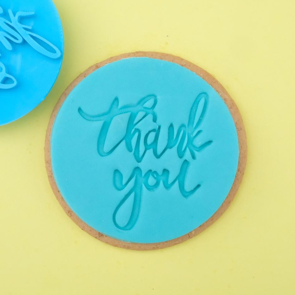 SWEET STAMP - Thank-You Cookie/Cupcake Embosser