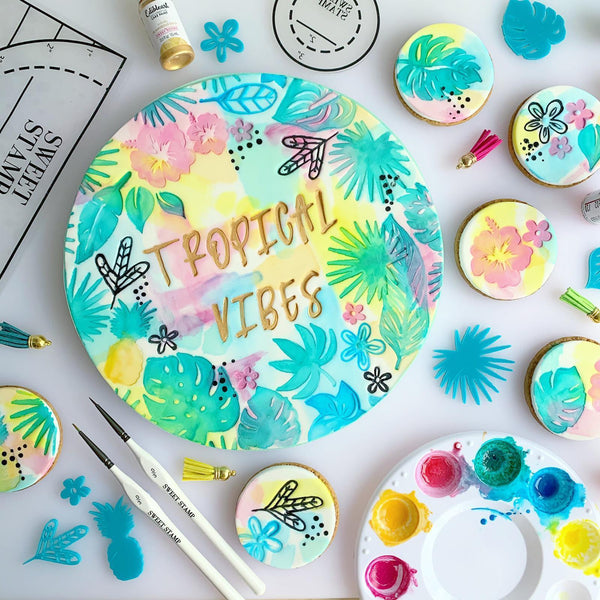 SWEET STAMP - Tropical Vibes by SweetBakes