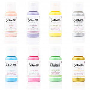 Edible Art Paint - Unicorn 8 Pack 15ml - Dragonfly Cake Supply, Alberta, Canada