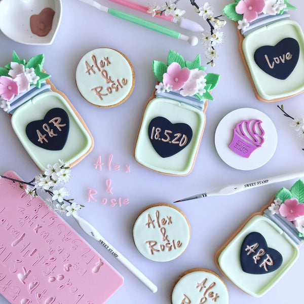 SWEET STAMP - Vanilla Set (Uppercase, Lowercase, Numbers AND Symbols)