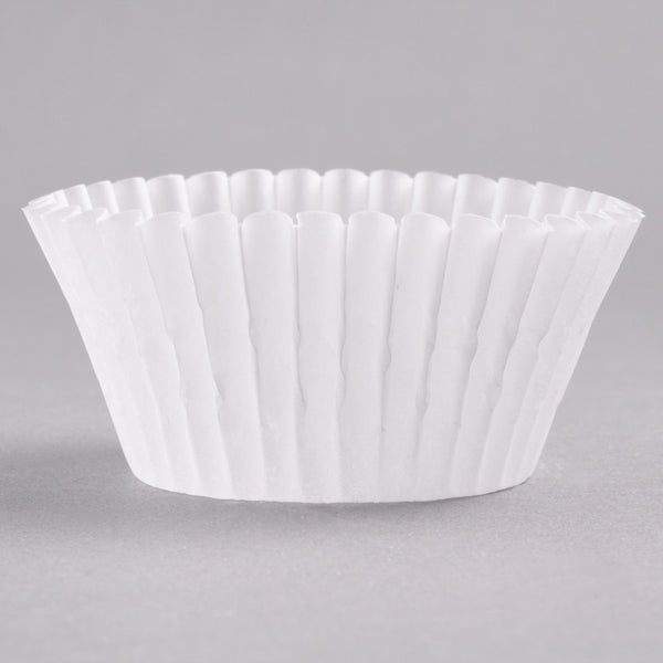 Cupcake Liners - White MINI - Pkg of 100