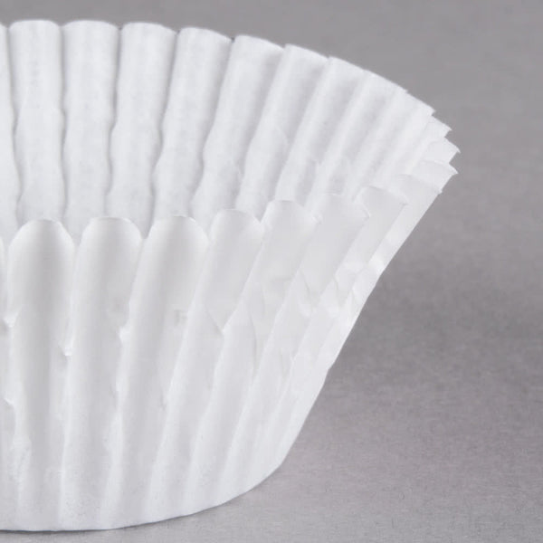 Cupcake Liners - White Standard Size - Pkg of 100