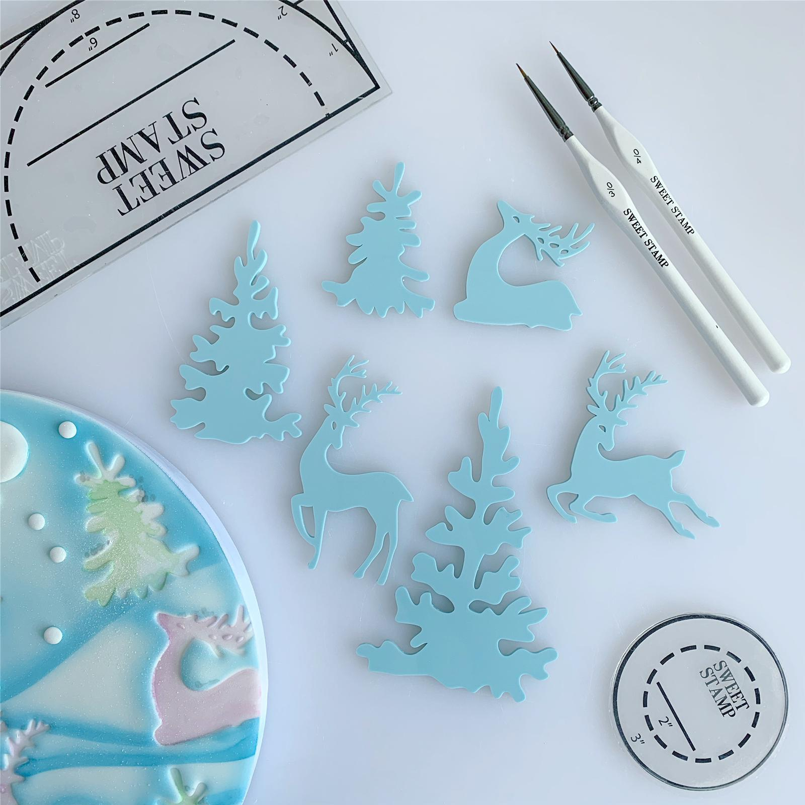 SWEET STAMP ELEMENTS - Winter Wonderland