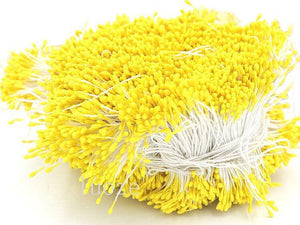 Stamen - 4500 Pieces - 1mm Plastic Tips (Yellow)