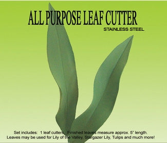 All Purpose Leaf Cutters & Veiner Set