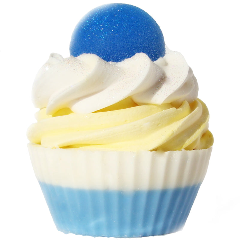 Beach Ball Cupcake Soap